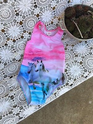 SEED BNWT Unicorn Girls Swimmers Full Piece Bathers Size 7/8