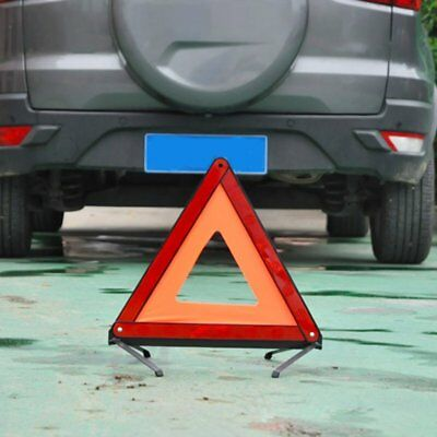 Auto voiture Triangle Warning Sign Emergency Reflective Tripod Avertissement PR