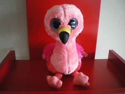 Ty Beanie Boos GILDA the flamingo 6 inch  NWT.  IN STOCK NOW.