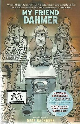 MY FRIEND JEFFREY DAHMER Derf Backderf comic memoir serial killer 2012 comix