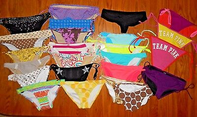 VS VICTORIAS SECRET SWIM WHOLESALE LOTS 1760+ PIECES bikini tops and bottoms