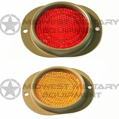 New Reflector Lens RED OR AMBER M35A2  military m998 hummer h1 humvee m923