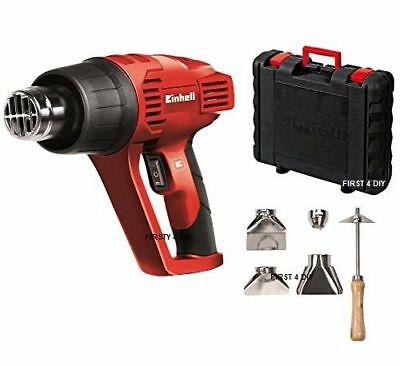 2000W Einhell Pro Premium Wallpaper Stripper Hot Air Heat Gun  & Nozzles In Case