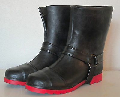 Handmade Edward Elric Cosplay Costume Boots  Shoes Fullmetal Alchemist Leather