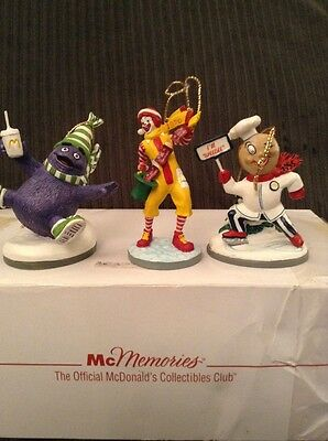 Mib Lot G Mcdonald's Mcmemories Ornaments 1996 Slipping And Slidiing 1971 1970
