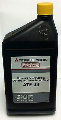 Genuine Mitsubishi Dia Queen J3 Automatic Transmission Fluid ATF  4 Quarts