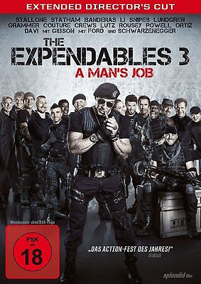 The Expendables 3 - A Man's Job [Director's Cut] - DVD/NEU/OVP  FSK18