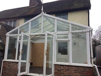 Conservatory Large Glass Roof Upvc Frames Dismantled