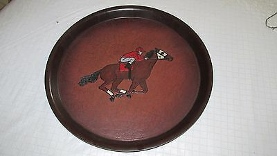 Racing Horse Serving Tray   Nice!