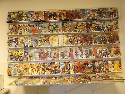 Huge lot of 280 Comics W/Iron Man, Wonder Woman, Spidey+More! Avg VF- Condition!