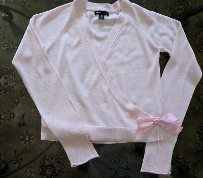Gap Kids XL (12) Girls ballet style bow sweater FREE SHIPPING!