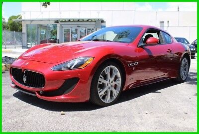 2014 Maserati Gran Turismo Sport 1 OWNER IMMACULATE ALOT OF FLASH FOR LITTLE CASH