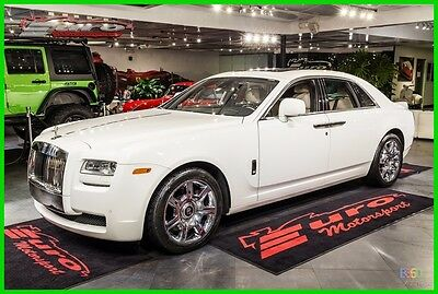 2011 Rolls-Royce Ghost Ghost Astonishing look. White over Sea Shell Hides. Must see it. Financing available