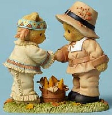 Cherished Teddies - Buck and Daniel - Giving Thanks For Blessed Friends #4047370