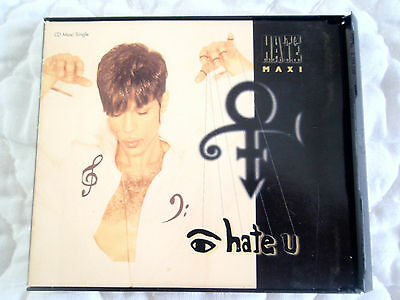 Prince I Hate U Cd Maxi Single Digipak 4 Tracks 1995 Warner Bros Npg Us Pressing