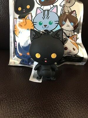 Cat Collector 3D Figural Keyring Keychain Mumbai [BB2]