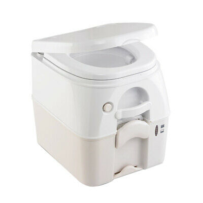 Dometic SeaLand 975 Portable Toilet 5.0 Gallon Tan w/Brackets 301097502
