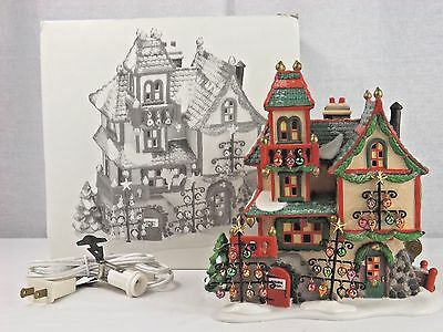 "Vintage Department 56 Dickens North Pole Series ""Glass Ornament Works"" Retired"