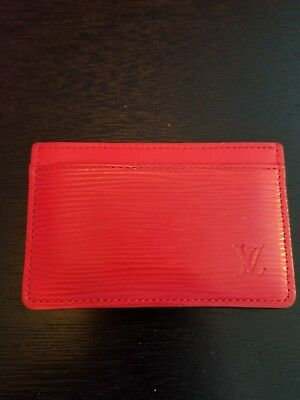 louis vuitton card holder / with box