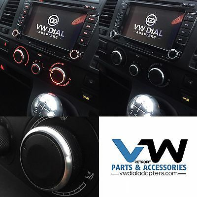For VW Transporter T5 T5.1 T6 Heater Dial Upgrade