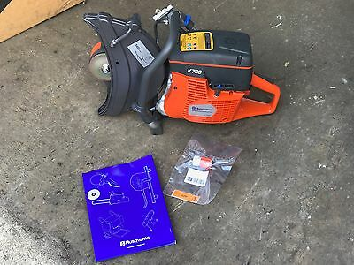 "Husqvarna K760 14"" Cutoff Saw - Demo Saw w/ 14"" Metal Cutting Blade"
