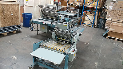 2000 model MBO B-30 PAPER FOLDER 4x4x4 2 Right Angles Batch Counter,