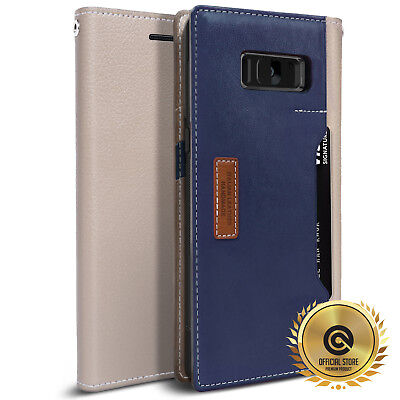 OBLIQ® [K3 Wallet Case] Luxury Leather 4 Card/ID Cover For Samsung Galaxy Note 8