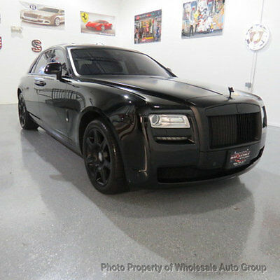 2013 Rolls-Royce Ghost 4dr Sedan ONE OWNER CARFAX CERTIFIED !!  FULLY LOADED !!! VERY RARE  !!! WON'T LAST LONG