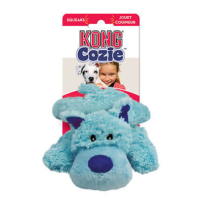 KONG Cozie BAILY THE DOG Medium Dogs Toy Blue (ZY21)