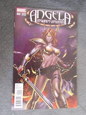 Angela Asgard's Assassin #2 Mike Choi Variant 1.25 Cover