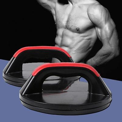 Hot Professional Push Up Pro Rotating Grips Upper Body Gym Fitness Strength C;