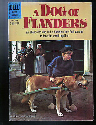 A Dog of Flanders (Four Color #1088) Dell Movie Classic (1960) Photo Cover  FINE