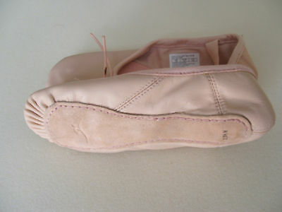 Motionwear Ballet Slippers - New - Child Size 13 N/m - Pink - Free Shipping