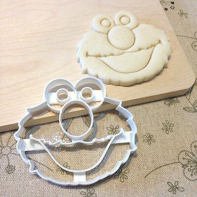 Elmo Cookie Cutter - Fondant Icing Cake Cupcake Topper Birthday Party Favors