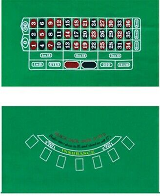 10 Player Folding Felt Rotary Texas Holdem Poker Table Cloth Fietro Board Cloth