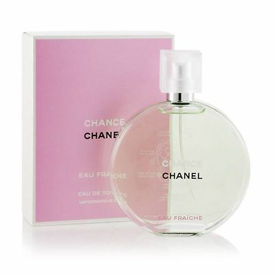 Authentic Chanel Chance Eau Fraiche, Eau De Toilette, 50ml, Brand New in Box