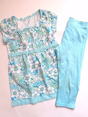 Justice 2 Piece Girls Outfit Sz 10 Shirt Top & Leggings Bts Lot