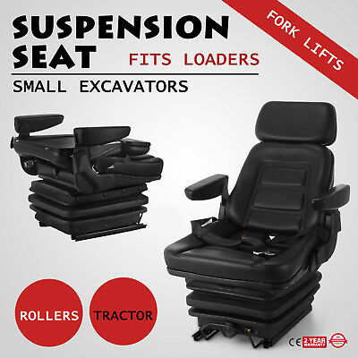 Suspension Swivel Seat Excavator,forklift,wheel Loader,dozer,backhoe,tractor #lk