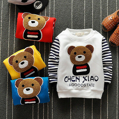 Winter Toddler Infant Baby Boys Girl Clothes Clothing T-shirt Girl Boy T-shirts
