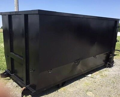 U-Dump Rolloff Dumpster Container 16yd (Good Shape) (2 available) Texas Pride