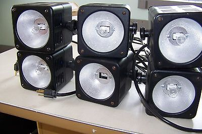 Lot of 6 Bencher Copy Stand Lights M40789 & M40188