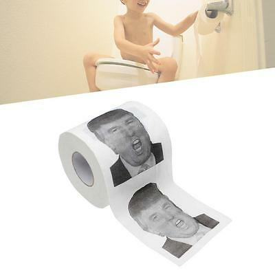 Funny Paper Donald Trump Toilet Paper 1 Roll Dump Take a with Trump Novelty AEAD
