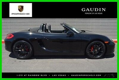 2014 Porsche Boxster Base Convertible 2-Door 2014 Used Certified 2.7L H6 24V RWD Convertible Premium