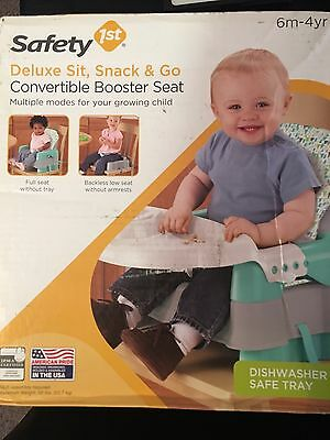 BABY BOOSTER SEAT Safety 1s Deluxe Sit, snack And Go