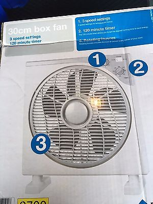 30 cm Box Fan - Portable
