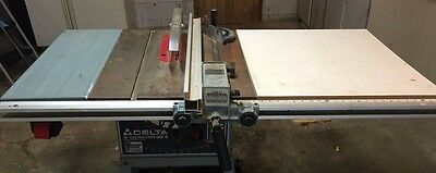 Delta precision sawguide and rail for table saws.  Great fence fits many saws.