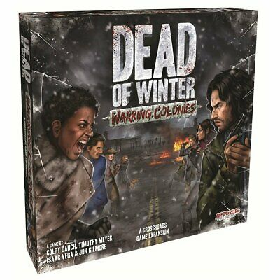 PREORDER Dead of Winter Warring Colonies Expansion Board Game