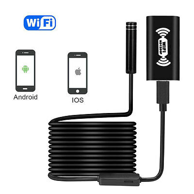 IP68 Wireless Endoscope Camera 2.0 Megapixels HD1200P Snake Camera For Android
