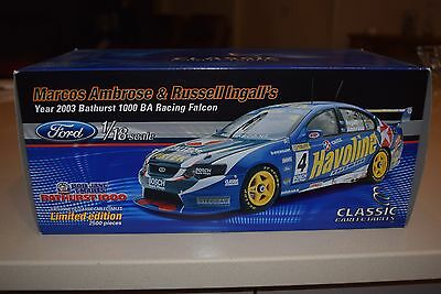 1:18 Classic Carlectables Marcos Ambrose and Russell Ingall's Year 2003 Bathurst