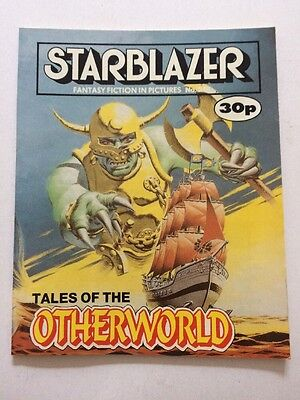 Starblazer Fantasy Fiction in Pictures 1989 Sci Fi No 248 Tales of Otherworld
